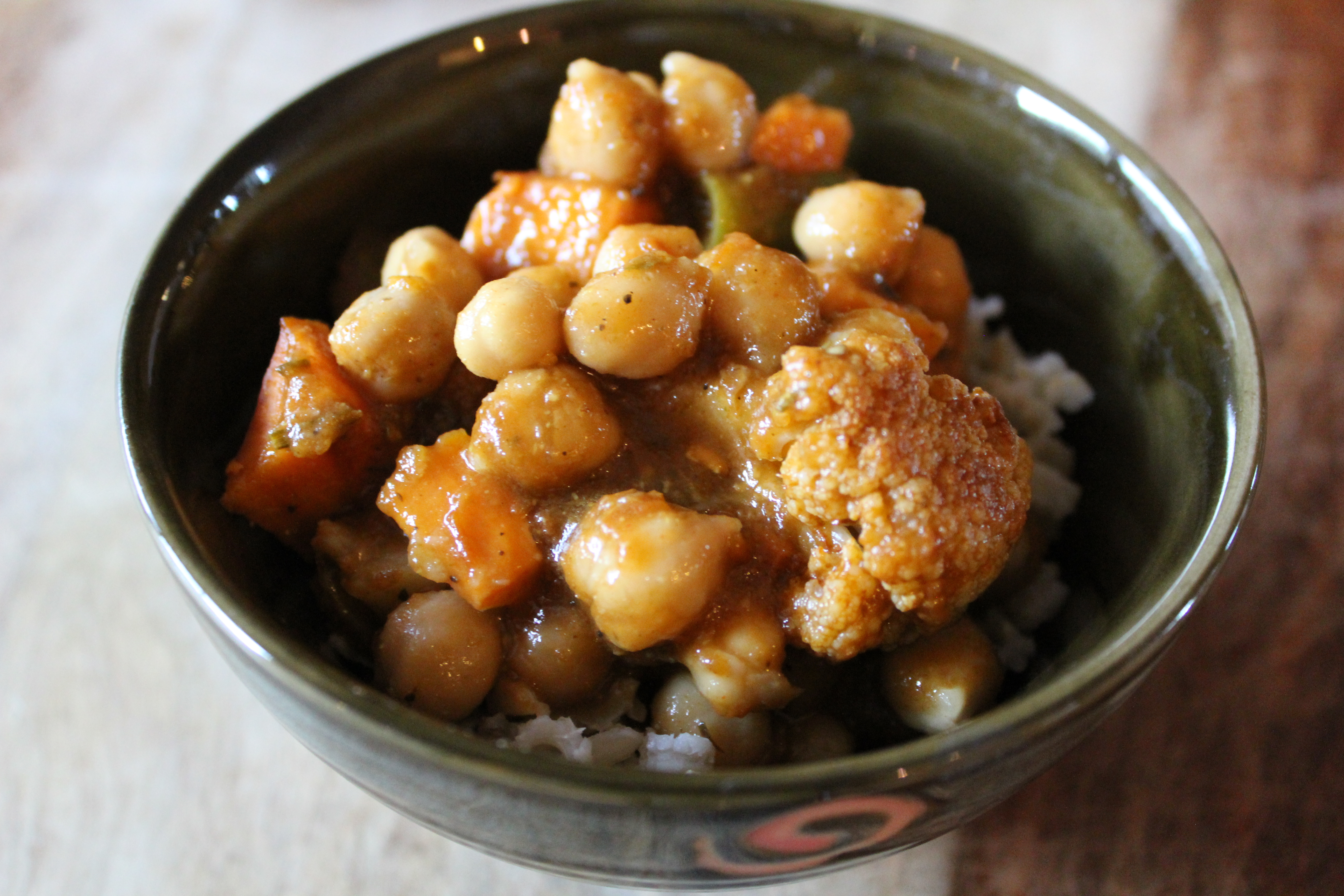 Spicy Chickpea Curry